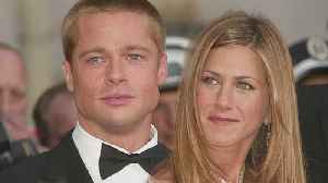News video: Brad Pitt and Jennifer Aniston Are 'Not Together' But 'You Can't Predict the Future,' Source Says