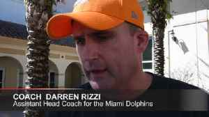 News video: $17,500 donated to family of Douglas coach Aaron Feis by Dolphins' coaches and staff