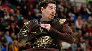 """News video: Germany's Paul Fentz Figure Skates To """"Game of Thrones"""" Music"""