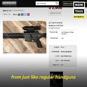 News video: How Easy Is It To Buy A Gun Without A Background Check In America?