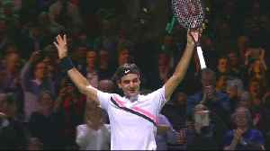 News video: Roger Federer: World's number one at 36