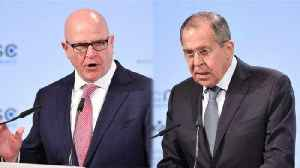 News video: US, Russian Officials Respond to Mueller's Indictment