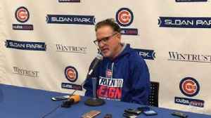 News video: Cubs manager Joe Maddon on Addison Russell: 'His year to really blossom'