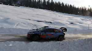 News video: Neuville maintains Sweden Rally lead