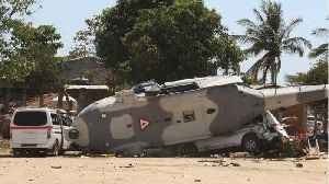 News video: Helicopter Crashes In Mexico After Surveying Damage From Quake