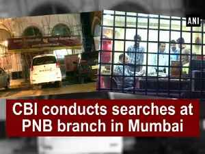 News video: CBI conducts searches at PNB branch in Mumbai along with accused