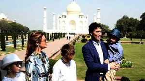 News video: Canada's Trudeau begins India trip with Taj Mahal visit