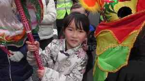 News video: Colourful parade kicks off Year of the Dog in London