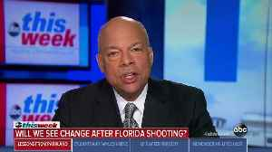 News video: Homeland Security Secretary: There Is 'a Role for the Public to Play' in Preventing Violence