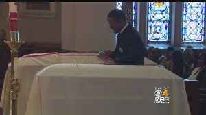 News video: Funeral Held For Brockton Brothers Allegedly Slain By Their Mother