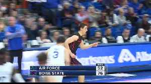 News video: Boise State runs past Air Force 76-52