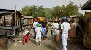 News video: Triple suicide attack sparks carnage at Nigerian fish market