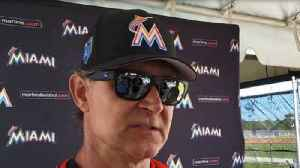 News video: Marlins have many players to assess in spring