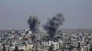 News video: Two Teens Killed After Israel Bombs Gaza