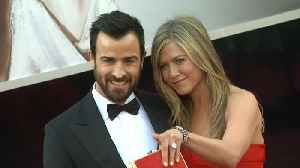 News video: Jennifer Aniston and Justin Theroux Saw Each Other 'One Last Time' on Valentine's Day