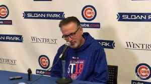 News video: Joe Maddon: 'I think you're going to see the best form of Ben Zobrist'