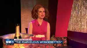 News video: Backstage with Bruno at 'The Marvelous Wonderettes'