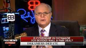 News video: Rush Limbaugh Willing To Grant Permanent Citizenship To Illegal Immigrants As Long As They Can't Vote For 15 To 25 Years