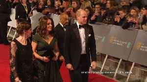 News video: Catherine, Duchess of Cambridge criticised online for not wearing black at the BAFTA's.