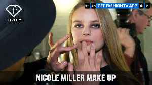 News video: New York Fashion Week Fall/Winter 18 19 - Nicole Miller Make Up | FashionTV | FTV