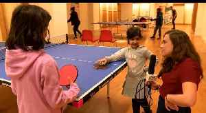 News video: Have you spotted the Pop Up Ping Pong Parlour?