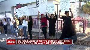 News video: Taylor Students Join Call For Action