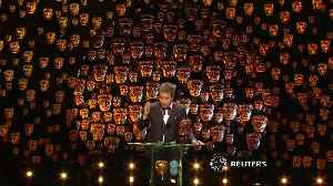 News video: Politics takes centre stage at BAFTAs in London