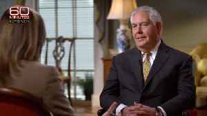 News video: Rex Tillerson Won't Deny Calling Trump a 'Moron': 'That's a Really Old Question'