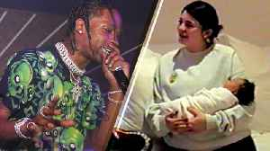 News video: Travis Scott Opens Up About Baby Stormi for the FIRST Time Since Kylie Jenner Gave Birth