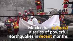 News video: Quake shakes Mexicans out of bed, alarms sound in capital