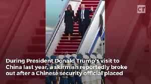 News video: Report: Chinese Security Ran Afoul of Secret Service