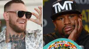 News video: Conor McGregor TROLLS Floyd Mayweather for Backing Out of UFC Negotiations