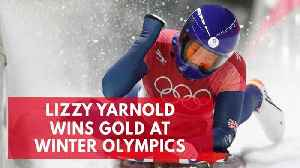 News video: Lizzy Yarnold wins gold at Winter Olympics