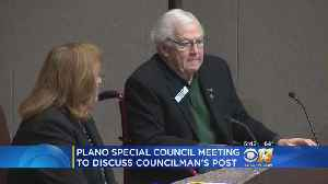 News video: Plano Councilman Will Not Resign Following Anti-Islam Facebook Post