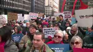 News video: Thousands Rally for Gun Control in Chicago in Wake of Deadly Florida Shooting