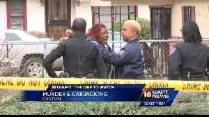 News video: Murder And Carjacking