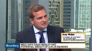 News video: MSCI Says Saudi Would Have Potential Weight of 2.3% in EM Index