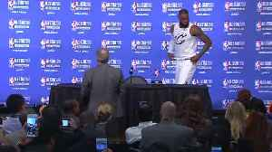 News video: MVP James pleased with All-Star Game win and new format