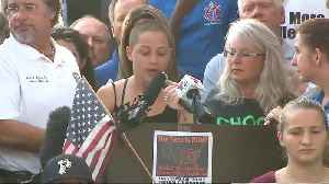 News video: Powerful Speech From Student At Florida Shooting School