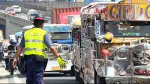 News video: Modernisation project threatens iconic Philippine 'jeepney'