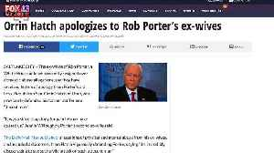 News video: Orrin Hatch Offers Big Apology to Rob Porter's Ex-Wives