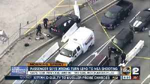 News video: Passenger says teen driver panicked, hit the gas outside NSA