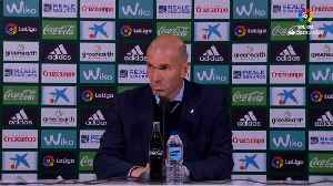 News video: Zidane praises Asensio and Vazquez for their 'dirty' work