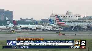 News video: Construction project starts at Reagan National Airport