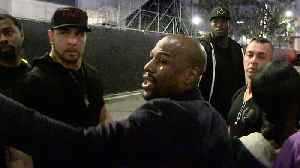 News video: Floyd Mayweather on MMA Future, 'I Don't Know'