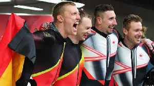 News video: Canada and Germany Tie for Gold in Two-Man Bobsled