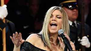 News video: Fergie Brushes Off Criticism Of National Anthem Performance