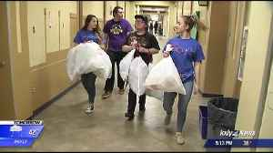 News video: Guys, Recycle!