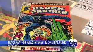 News video: Black Panther movie gets youth excited about comic