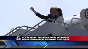 News video: Vice President Pence Tours US-Mexico Border Operations